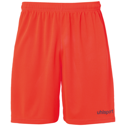Uhlsport Center Basic Shorts - Rouge Fluo & Marine