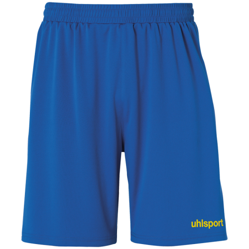 Uhlsport Center Basic Shorts - Azur & Jaune