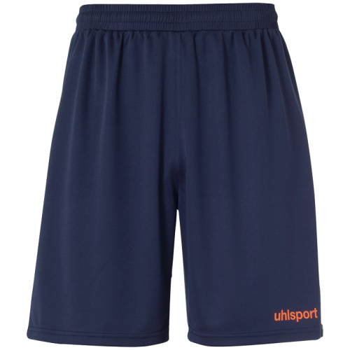 Uhlsport Center Basic Shorts - Marine & Rouge Fluo