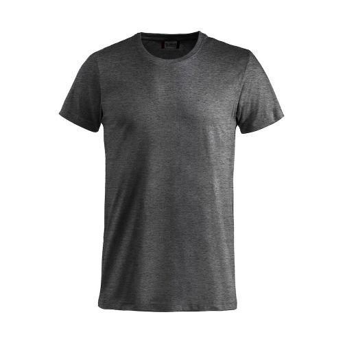 T-shirt Basic - Gris Chiné Foncé