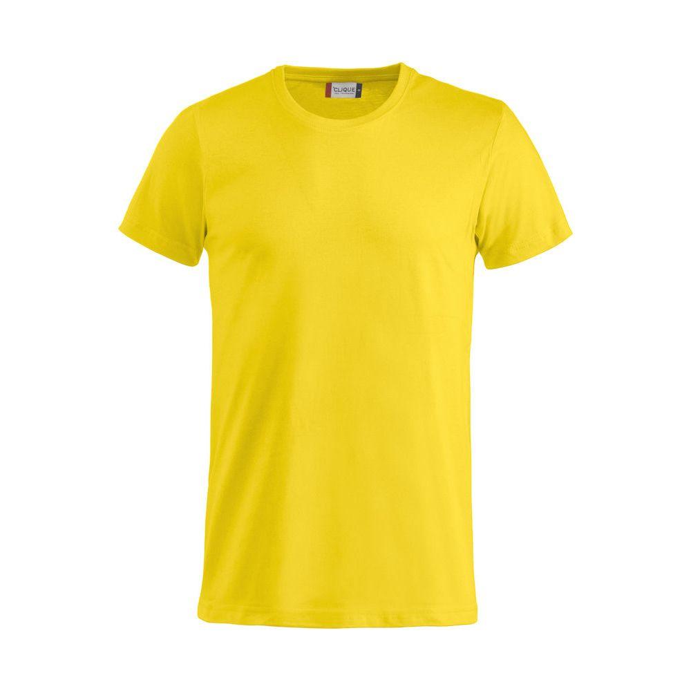 T-shirt Basic - Jaune Citron