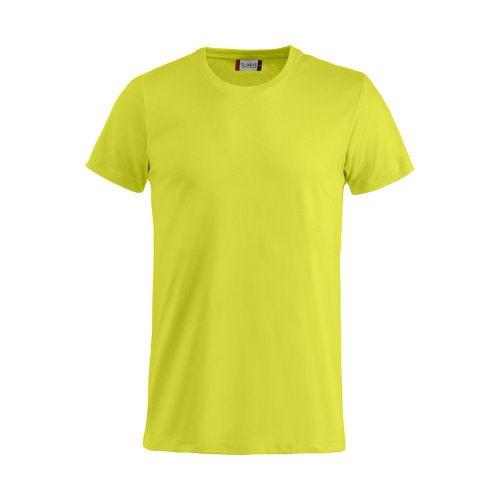 T-shirt Basic - Vert Visibilité