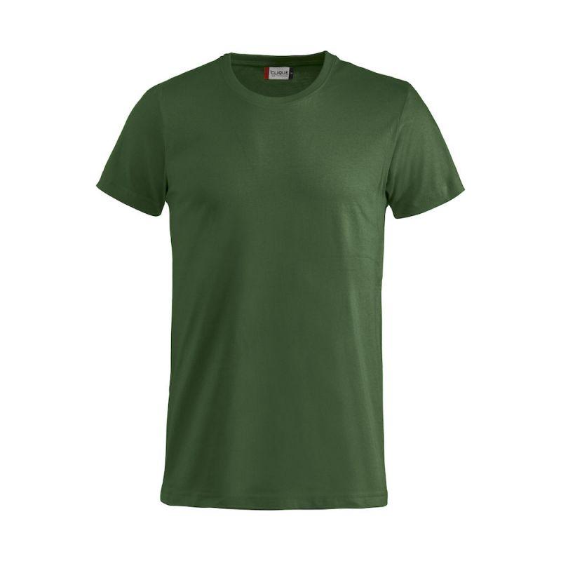 T-shirt Basic - Vert Bouteille