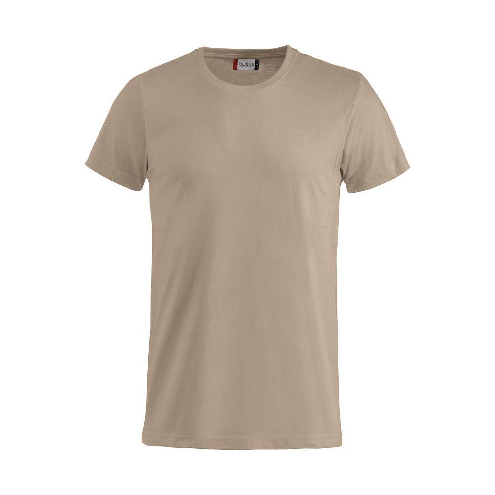 T-shirt Basic - Café au Lait