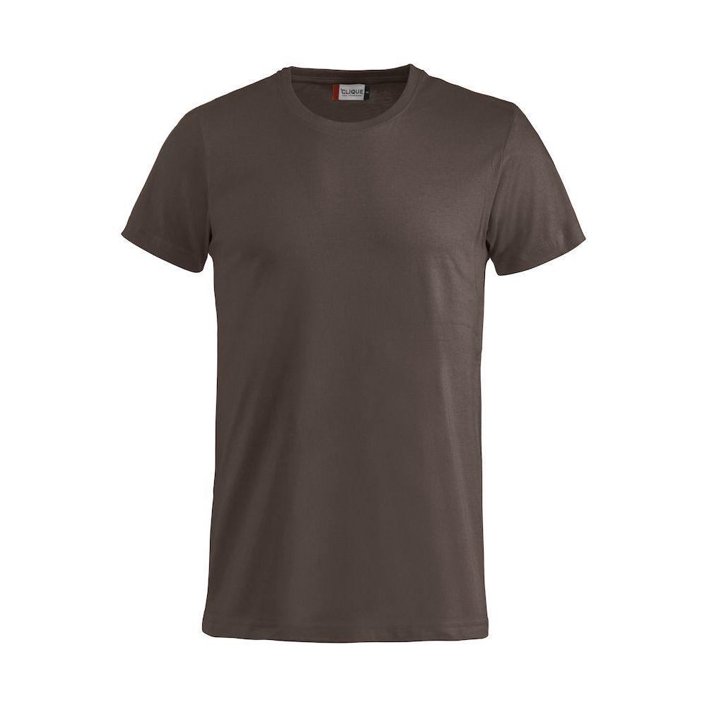T-shirt Basic - Marron Foncé