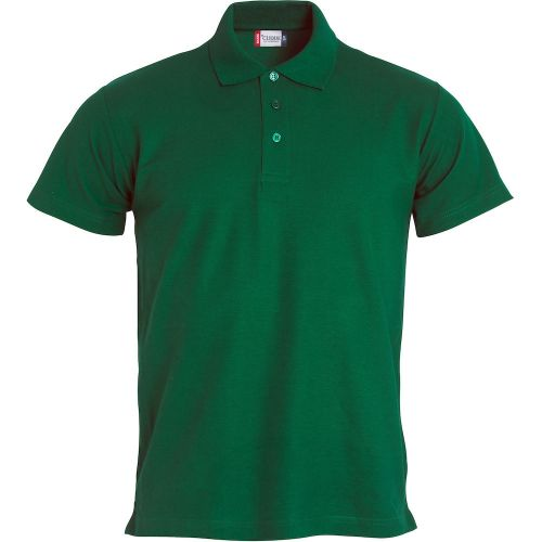Polo Basic - Vert Bouteille