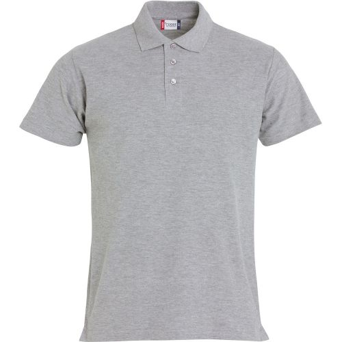Polo Basic - Gris Chiné