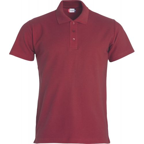 Polo Basic - Bordeaux