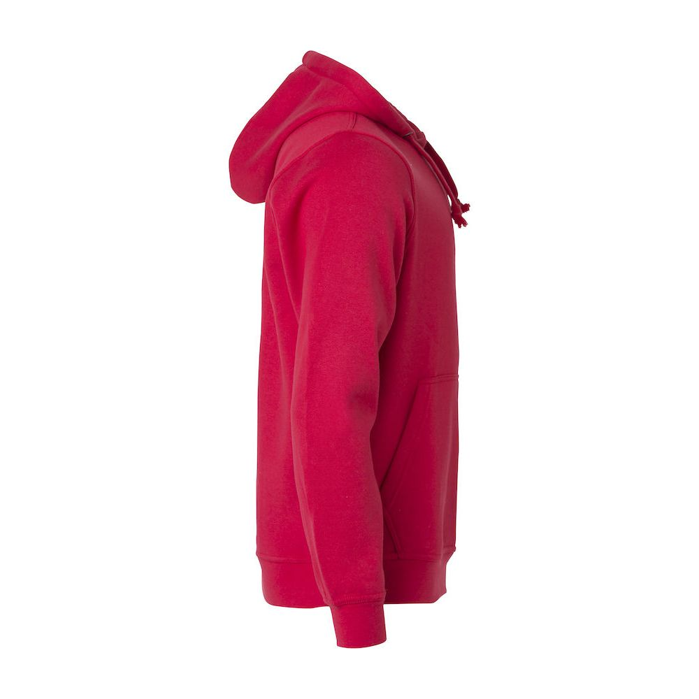 Hoody Basic - Rouge