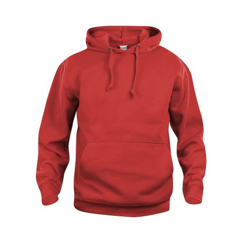 Hoody Basic - Rouge
