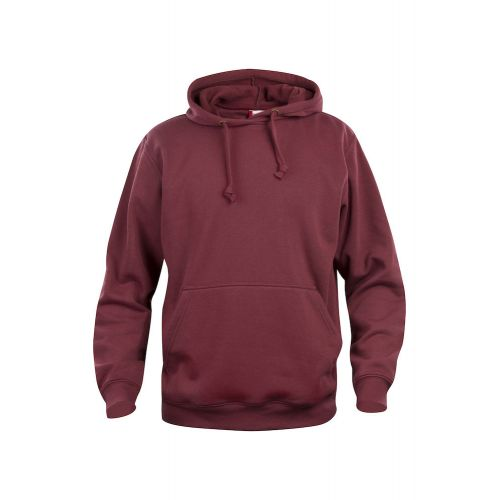 Hoody Basic - Bordeaux