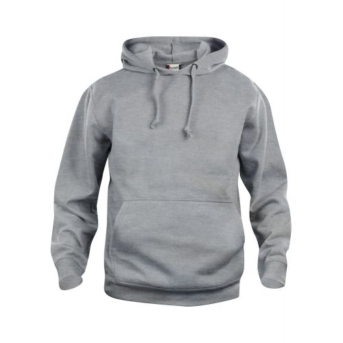 Hoody Basic - Gris Chiné