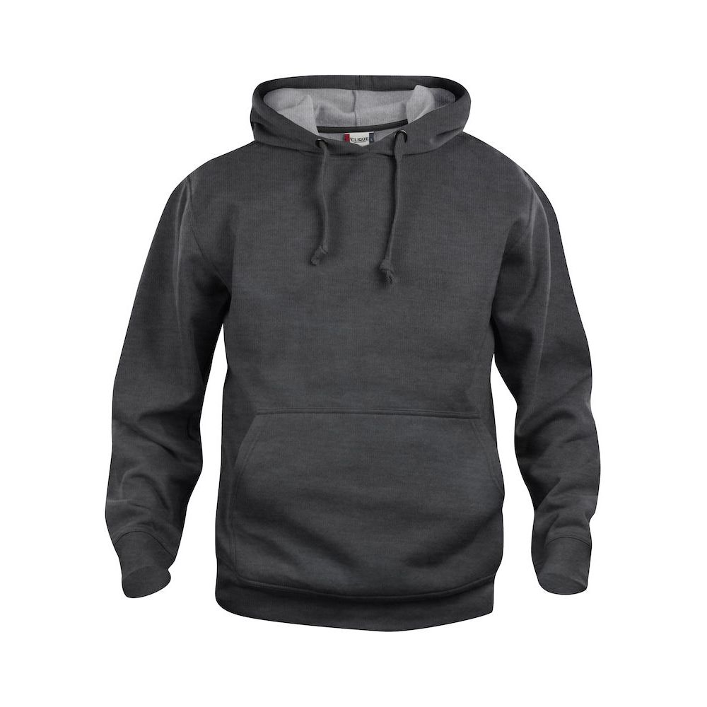 Hoody Basic - Anthracite chiné