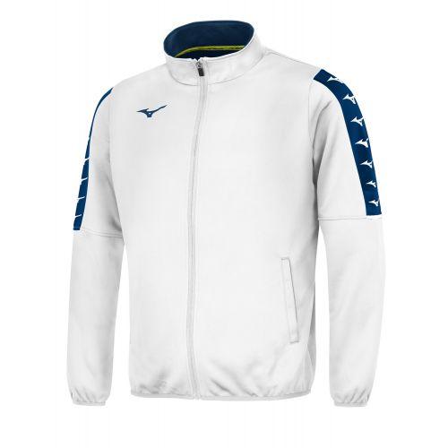 Mizuno Nara Track Jacket - Blanc