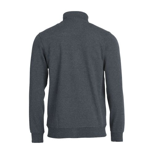 Sweat Zippé Basic - Anthracite
