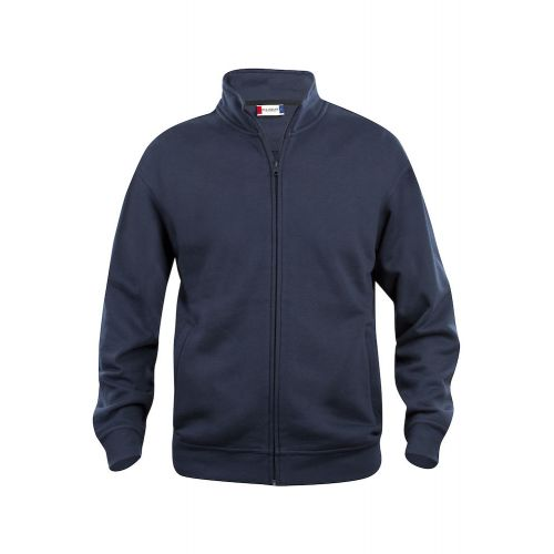 Sweat Zippé Basic - Marine