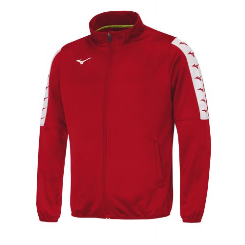 Mizuno Nara Track Jacket - Rouge
