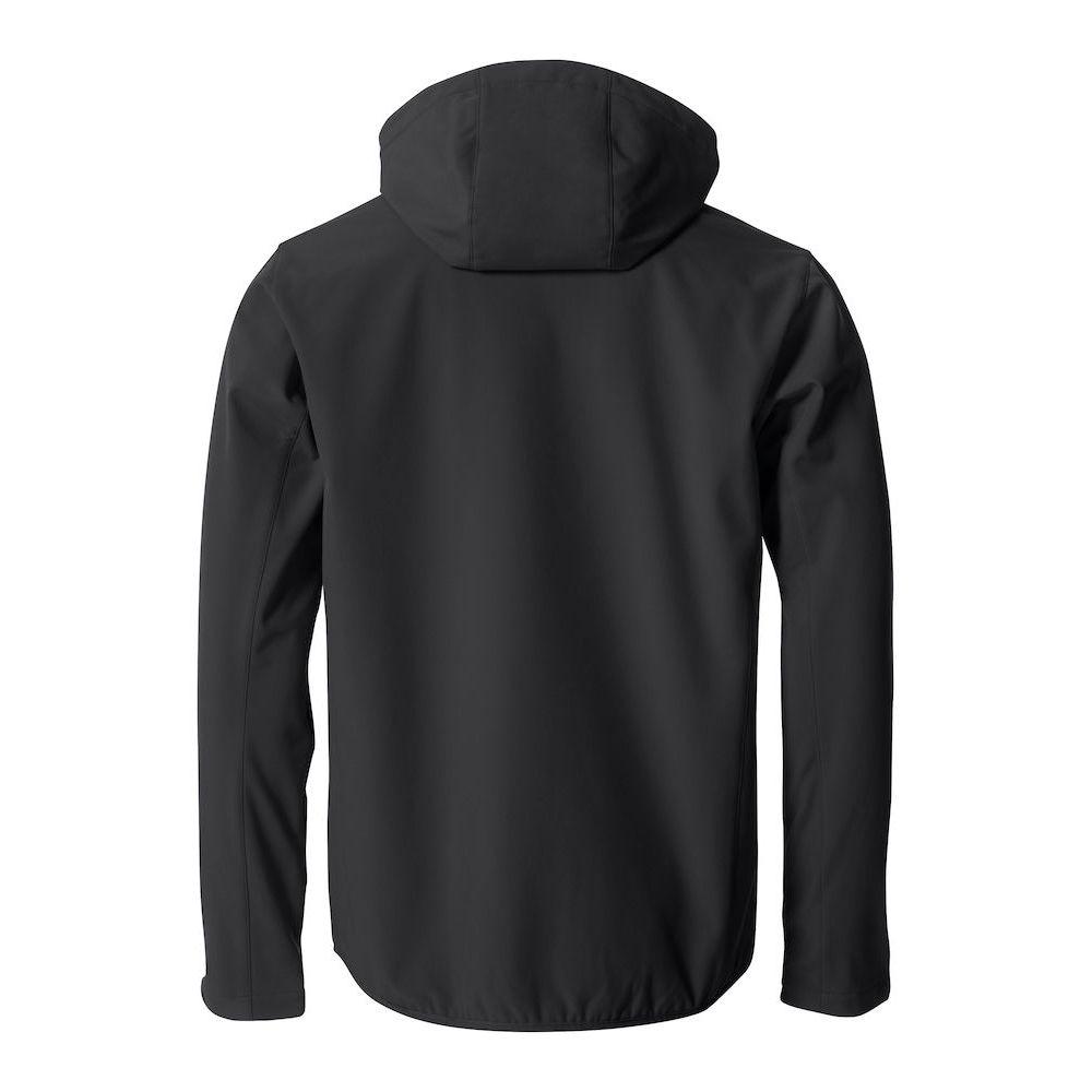 Veste Softshell à Capuche - Noir