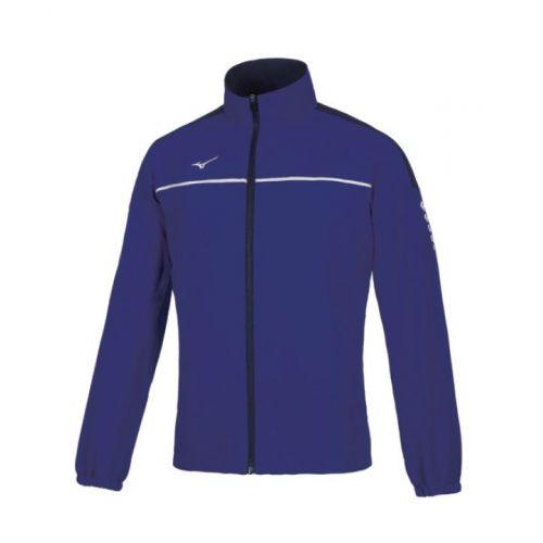 Mizuno Tokyo Micro Track Jacket - Bleu Marine & Blanc