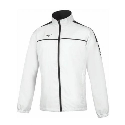 Mizuno Tokyo Micro Track Jacket - Blanc & Noir