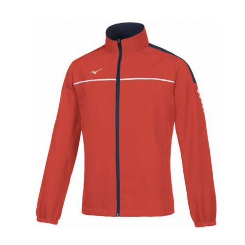 Mizuno Tokyo Micro Track Jacket - Rouge & Blanc