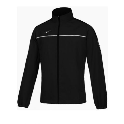 Mizuno Tokyo Micro Track Jacket - Noir & Blanc