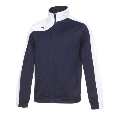 Mizuno Kobe Knitted Tracksuit - Bleu Marine & Blanc