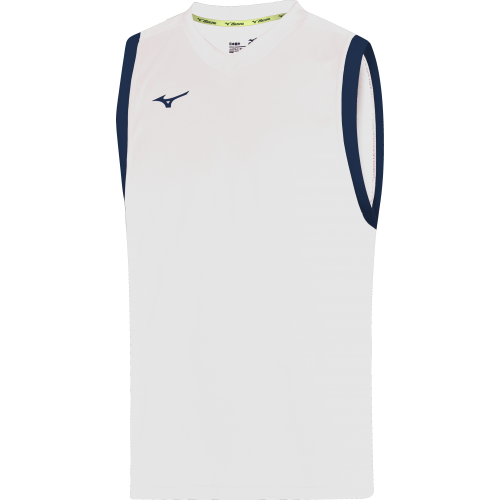 Mizuno Authentic Basketball Vest - Blanc & Marine