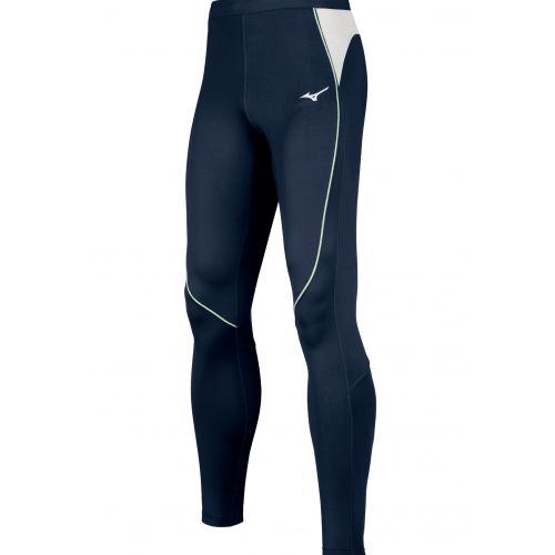 Mizuno Premium JPN Long Tight - Marine & Blanc