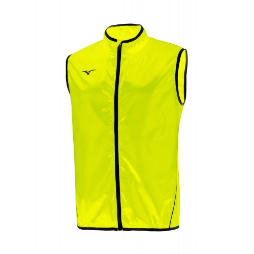 Mizuno Authentic Rain Vest - Jaune