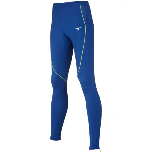 Mizuno Premium JPN long Tight - Femme - Royal