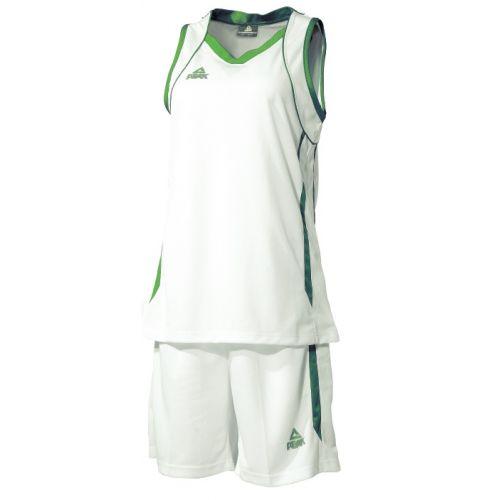 Peak Ensemble de Match - Blanc & Vert