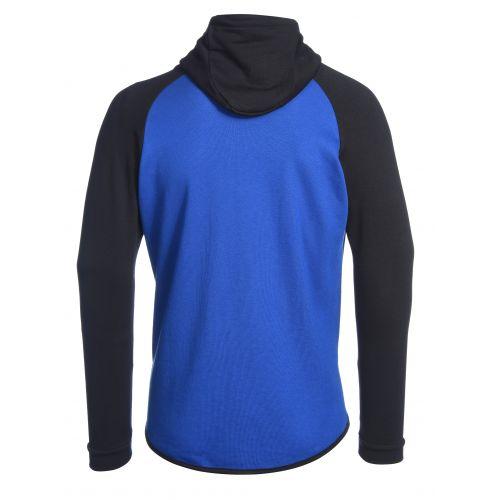 Peak Hoodie Zip Elite Bleu