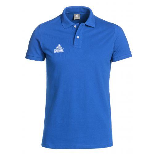 Peak Polo Coton bleu