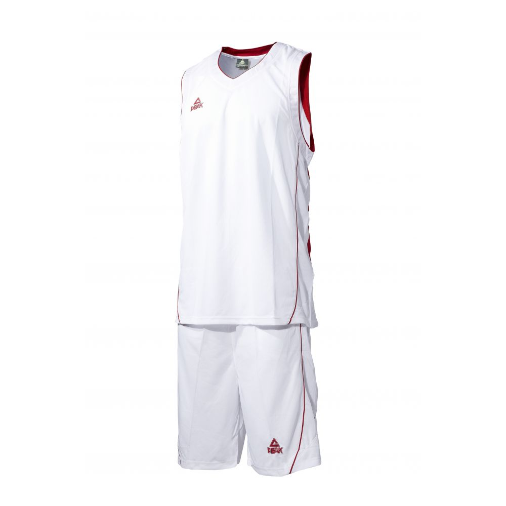 Peak Ensemble de Match -Blanc & Rouge