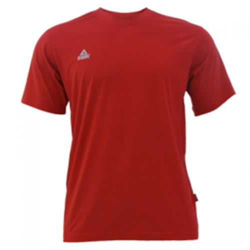 Peak T-shirt Petit Logo Rouge
