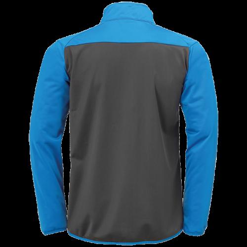 Kempa Prime Poly Jacket - Bleu Kempa / Gris