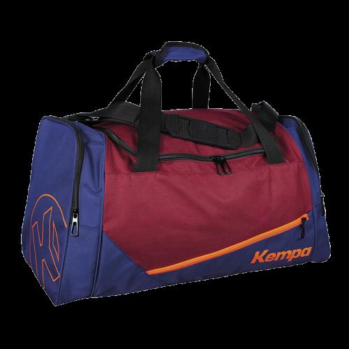 Kempa Sport Bag (30 L) - Rouge Profond / Bleu Profond