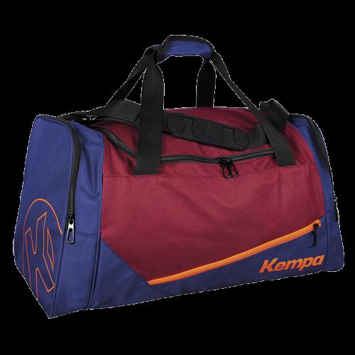 Kempa Sport Bag (50 L) - Rouge Profond / Bleu Profond