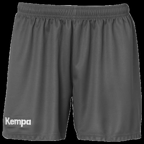 Kempa Classic Short Femme - Gris Anthracite