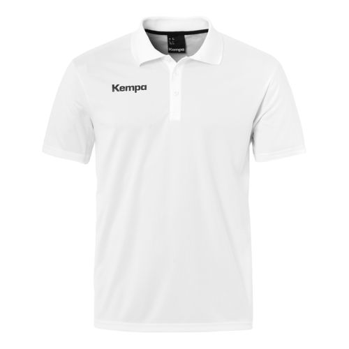 Kempa Poly Polo Shirt - Blanc