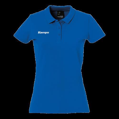 Kempa Polo Shirt Femme - Bleu Roi
