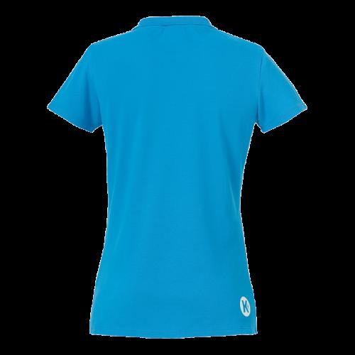 Kempa Polo Shirt Femme - Bleu Kempa