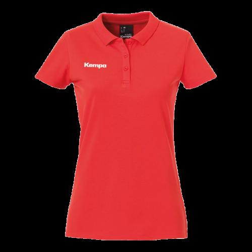 Kempa Polo Shirt Femme - Rouge