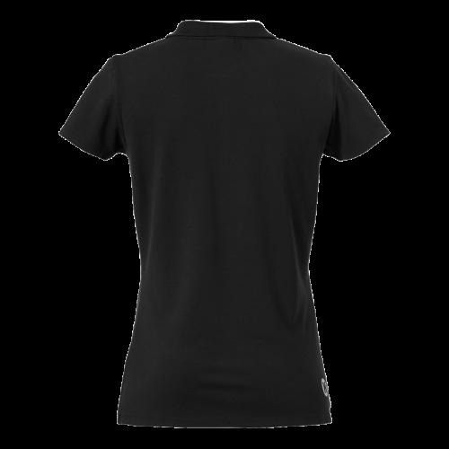 Kempa Polo Shirt Femme - Noir