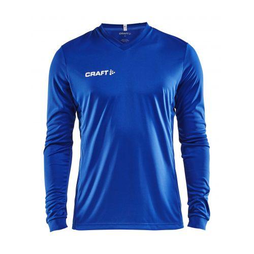Craft Squad Jersey Solid LS - Bleu Cobalt
