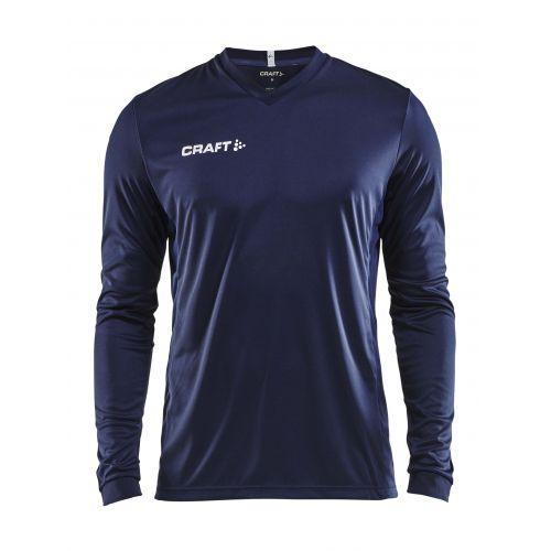 Craft Squad Jersey Solid LS - Bleu Marine