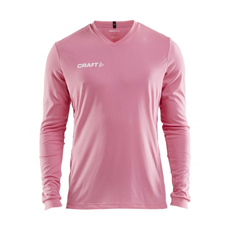 Craft Squad Jersey Solid LS - Rose