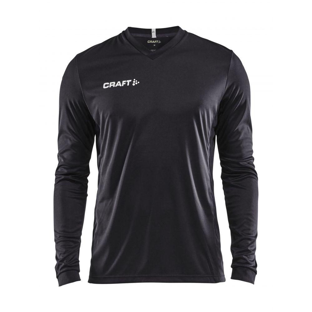 Craft Squad Jersey Solid LS - Noir