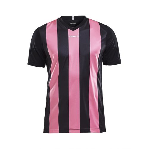 Craft Progress Jersey Stripe - Noir & Rose